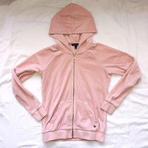 Light Pink Juicy Velvet Jacket